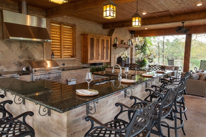 Outdoor Kitchen Design Tips Alamo Cabinets